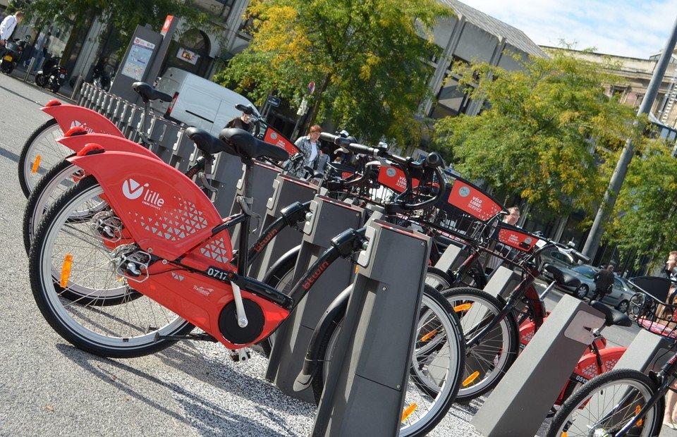 Les vélos dans la métropole Lilloise
