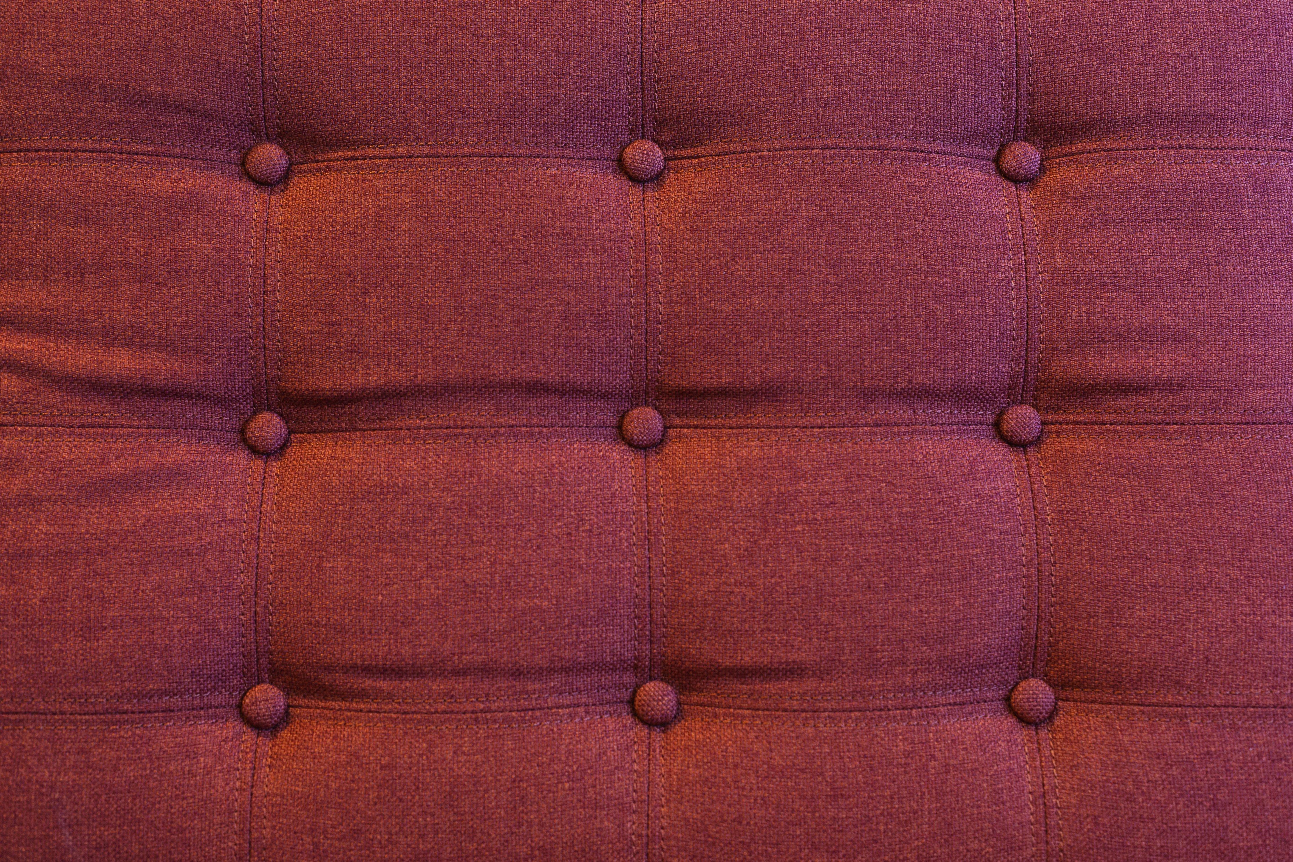 canapé rouge solde